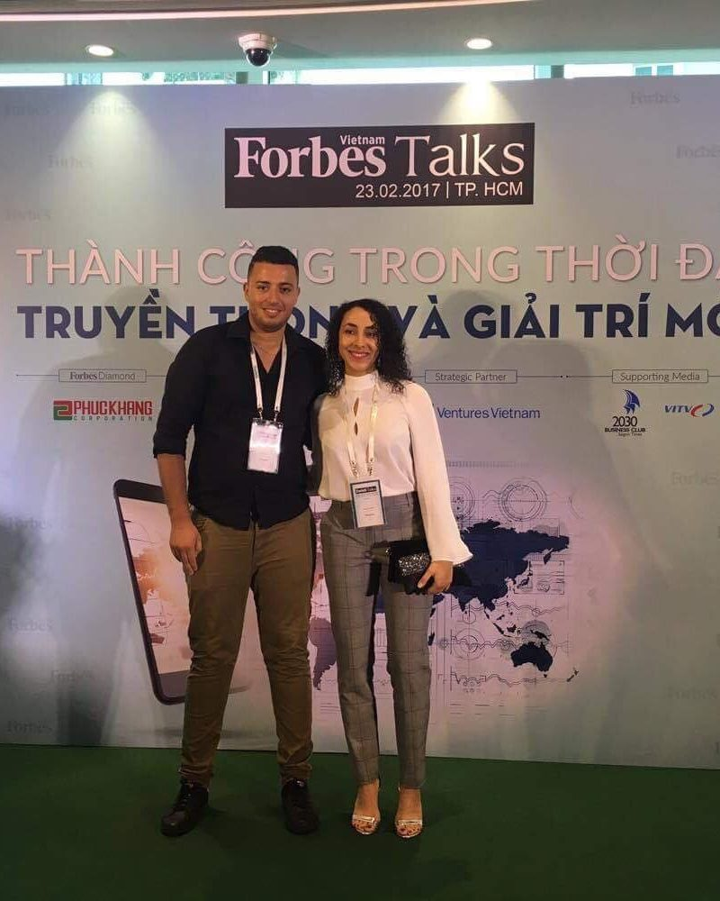 Forbes Talk Show in Ho-chi-Minh City
